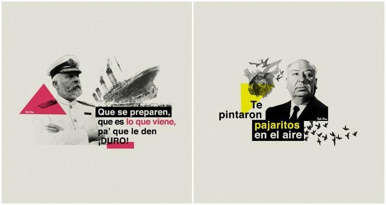 titanic reggaetón ilustrado
