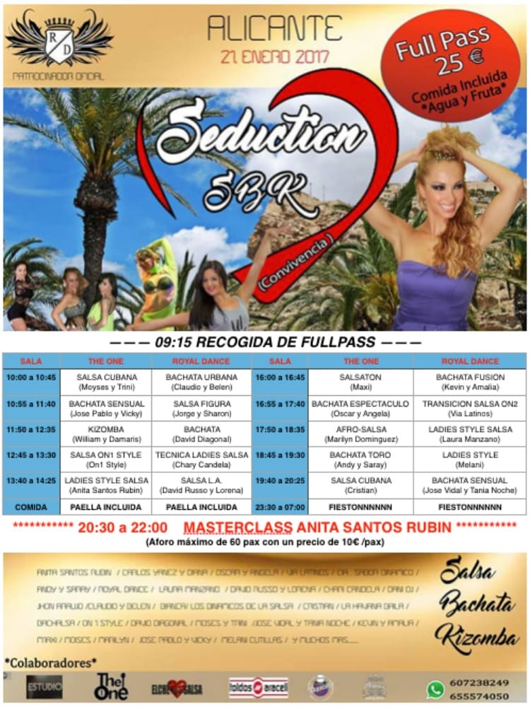 talleres seduction sbk congress