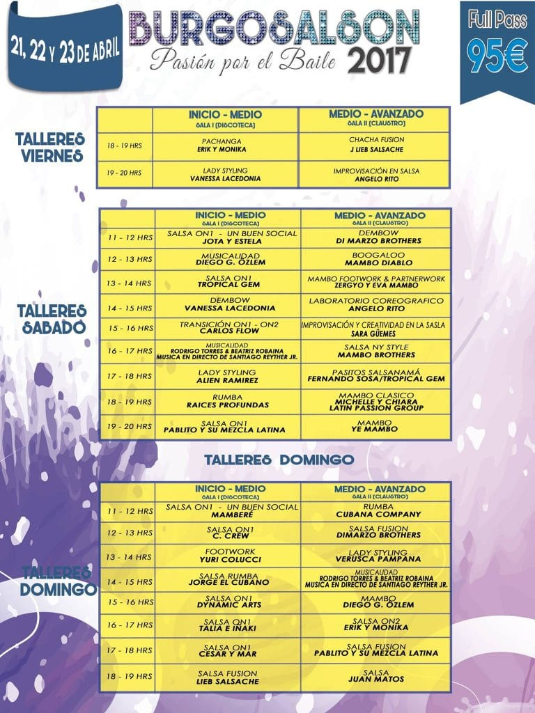 talleres burgosalson 2017