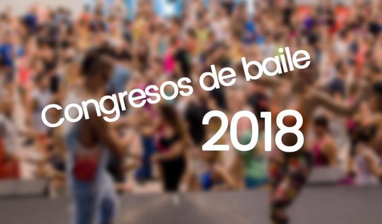 congresos de baile 2018